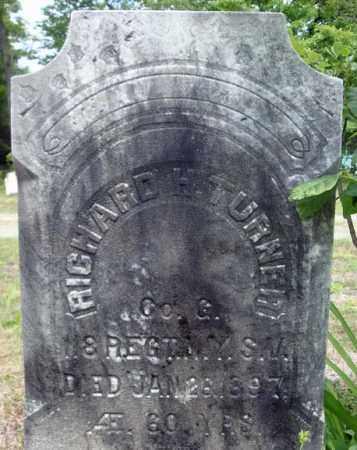 TURNER, RICHARD H - Warren County, New York | RICHARD H TURNER - New York Gravestone Photos