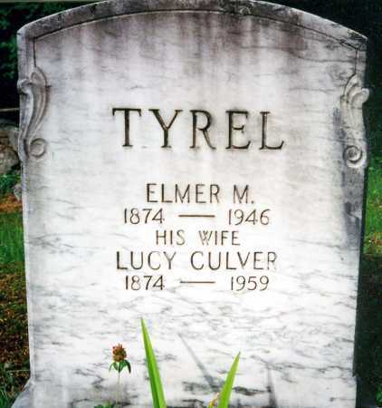 CULVER TYREL, LUCY MAY - Warren County, New York | LUCY MAY CULVER TYREL - New York Gravestone Photos