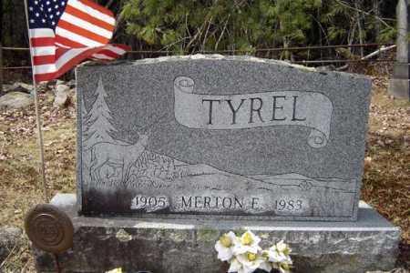 TYREL, MERTON E - Warren County, New York | MERTON E TYREL - New York Gravestone Photos
