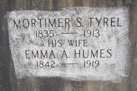 HUMES, EMMALINE A - Warren County, New York | EMMALINE A HUMES - New York Gravestone Photos