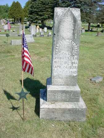 TYRRELL (CW), CHARLES M - Warren County, New York | CHARLES M TYRRELL (CW) - New York Gravestone Photos
