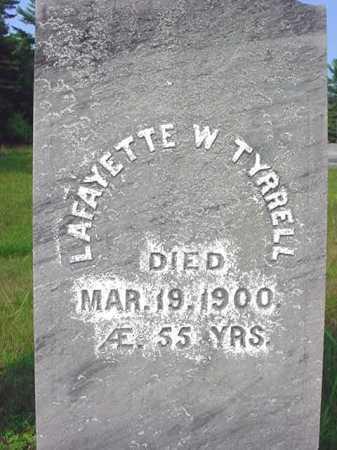 TYRRELL, LAFAYETTE W - Warren County, New York   LAFAYETTE W TYRRELL - New York Gravestone Photos