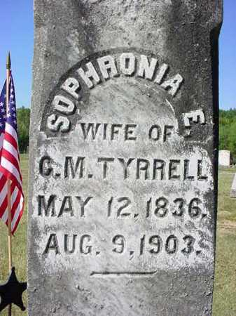 TYRRELL, SOPHRONIA E - Warren County, New York | SOPHRONIA E TYRRELL - New York Gravestone Photos
