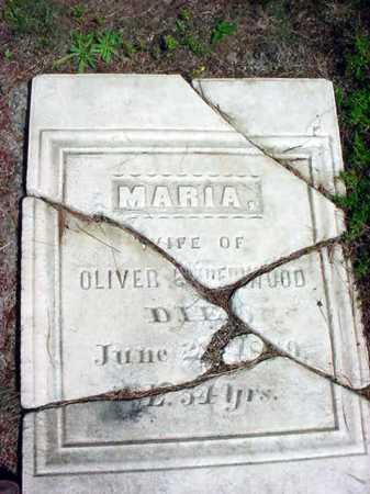 UNDERWOOD, MARIA - Warren County, New York | MARIA UNDERWOOD - New York Gravestone Photos