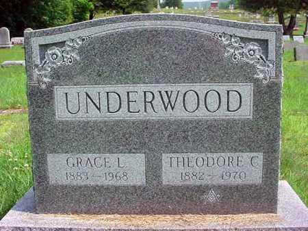 UNDERWOOD, THEODORE C - Warren County, New York | THEODORE C UNDERWOOD - New York Gravestone Photos