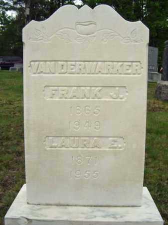 VAN DERWARKER, LAURA E - Warren County, New York | LAURA E VAN DERWARKER - New York Gravestone Photos
