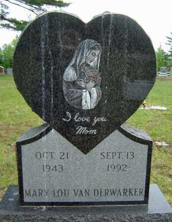 VAN DERWARKER, MARY LOU - Warren County, New York | MARY LOU VAN DERWARKER - New York Gravestone Photos