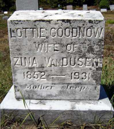 GOODNOW VAN DUSEN, LOTTIE - Warren County, New York | LOTTIE GOODNOW VAN DUSEN - New York Gravestone Photos