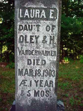 VANDERWARKER, LAURA E - Warren County, New York | LAURA E VANDERWARKER - New York Gravestone Photos