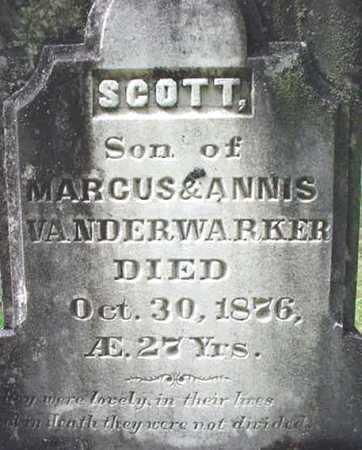 VANDERWARKER, SCOTT - Warren County, New York | SCOTT VANDERWARKER - New York Gravestone Photos