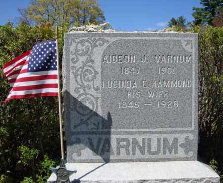 HAMMOND, LUCINDA E - Warren County, New York | LUCINDA E HAMMOND - New York Gravestone Photos