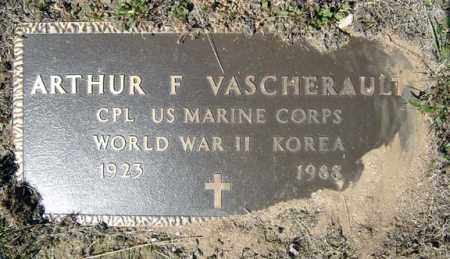 VASCHERAULT (WWII), ARTHUR F - Warren County, New York | ARTHUR F VASCHERAULT (WWII) - New York Gravestone Photos