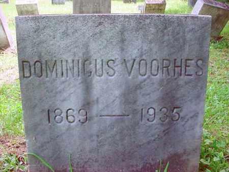 VOORHES, DOMINIGUS - Warren County, New York | DOMINIGUS VOORHES - New York Gravestone Photos