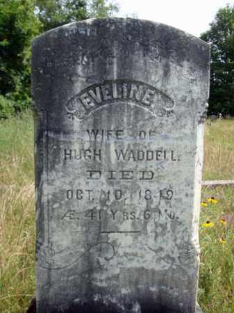 WADDELL, EVELINE - Warren County, New York | EVELINE WADDELL - New York Gravestone Photos