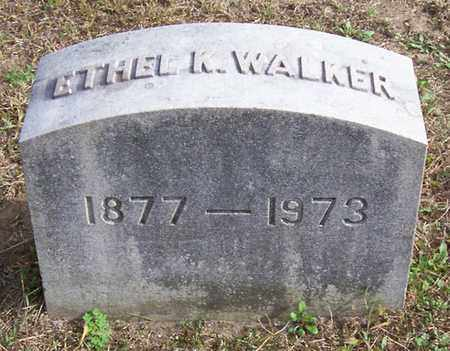 WALKER, ETHEL - Warren County, New York | ETHEL WALKER - New York Gravestone Photos