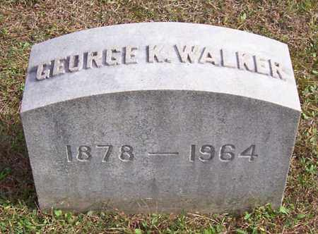 WALKER, GEORGE K - Warren County, New York | GEORGE K WALKER - New York Gravestone Photos