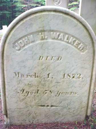 WALKER, JOHN H - Warren County, New York   JOHN H WALKER - New York Gravestone Photos