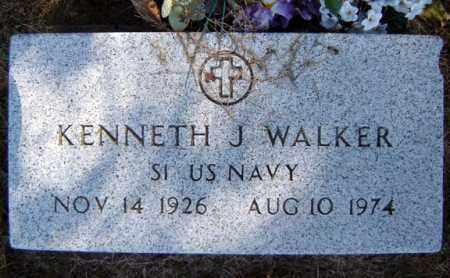 WALKER, KENNETH J - Warren County, New York | KENNETH J WALKER - New York Gravestone Photos