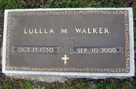 WALKER, LUELLA M - Warren County, New York   LUELLA M WALKER - New York Gravestone Photos