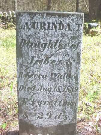 WALLACE, AURINDA T - Warren County, New York | AURINDA T WALLACE - New York Gravestone Photos