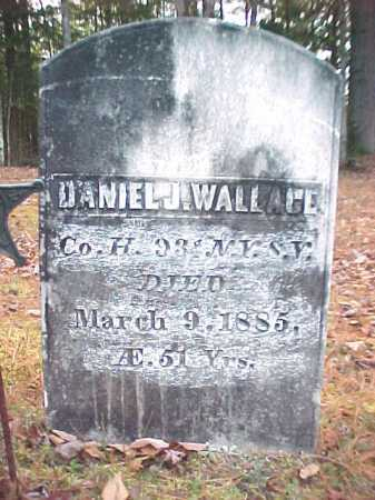 WALLACE, DANIEL J - Warren County, New York | DANIEL J WALLACE - New York Gravestone Photos