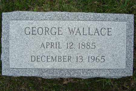 WALLACE, GEORGE - Warren County, New York | GEORGE WALLACE - New York Gravestone Photos