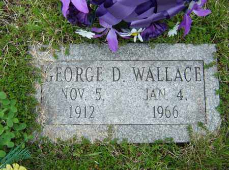 WALLACE, GEORGE D - Warren County, New York   GEORGE D WALLACE - New York Gravestone Photos