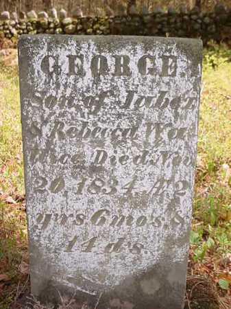 WALLACE, GEORGE - Warren County, New York | GEORGE WALLACE - New York Gravestone Photos