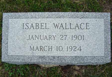 WALLACE, ISABEL - Warren County, New York | ISABEL WALLACE - New York Gravestone Photos