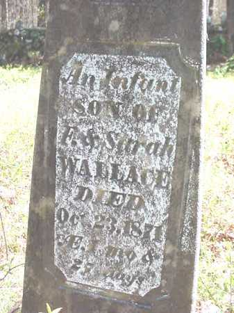 WALLACE, INFANT - Warren County, New York | INFANT WALLACE - New York Gravestone Photos