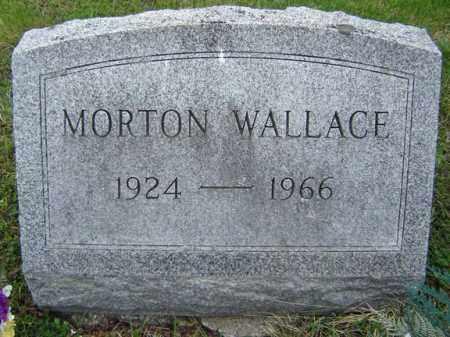 WALLACE, MORTON - Warren County, New York | MORTON WALLACE - New York Gravestone Photos