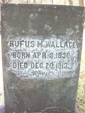 WALLACE, RUFUS M - Warren County, New York | RUFUS M WALLACE - New York Gravestone Photos