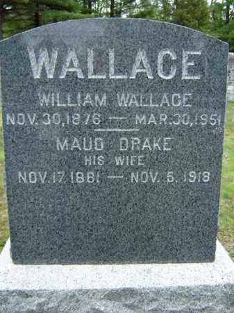 WALLACE, MAUD - Warren County, New York | MAUD WALLACE - New York Gravestone Photos
