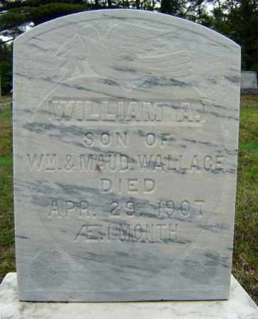 WALLACE, WILLIAM A - Warren County, New York | WILLIAM A WALLACE - New York Gravestone Photos