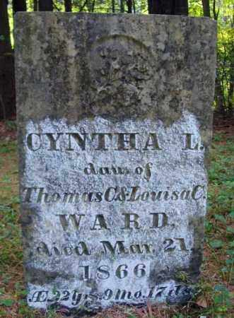 WARD, CYNTHA L - Warren County, New York | CYNTHA L WARD - New York Gravestone Photos