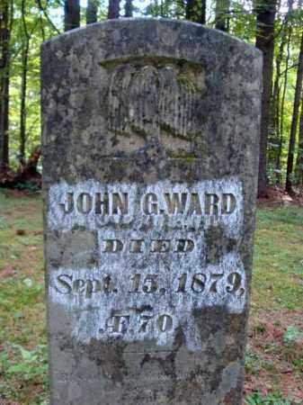 WARD, JOHN G - Warren County, New York | JOHN G WARD - New York Gravestone Photos