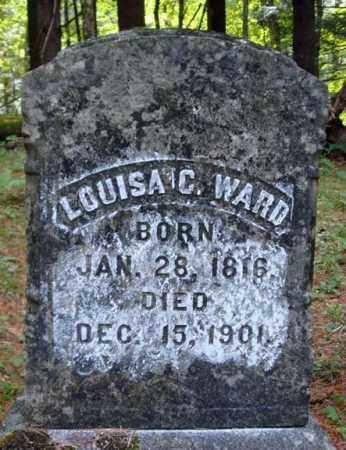 WARD, LOUISA C - Warren County, New York | LOUISA C WARD - New York Gravestone Photos