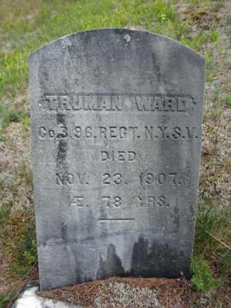 WARD, TRUMAN - Warren County, New York | TRUMAN WARD - New York Gravestone Photos