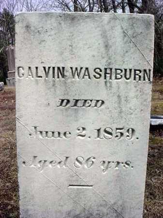 WASHBURN, CALVIN - Warren County, New York | CALVIN WASHBURN - New York Gravestone Photos