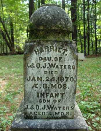 WATERS, HARRIET - Warren County, New York | HARRIET WATERS - New York Gravestone Photos