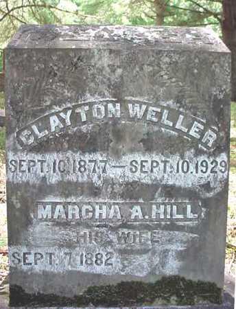 WELLER, CLAYTON - Warren County, New York | CLAYTON WELLER - New York Gravestone Photos
