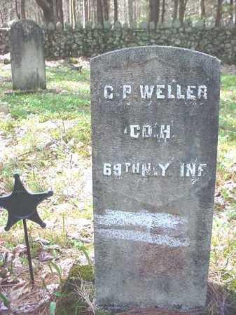 WELLER (CW), C P - Warren County, New York | C P WELLER (CW) - New York Gravestone Photos