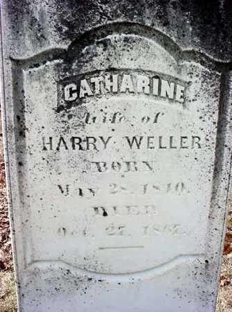 WELLER, CATHARINE - Warren County, New York | CATHARINE WELLER - New York Gravestone Photos