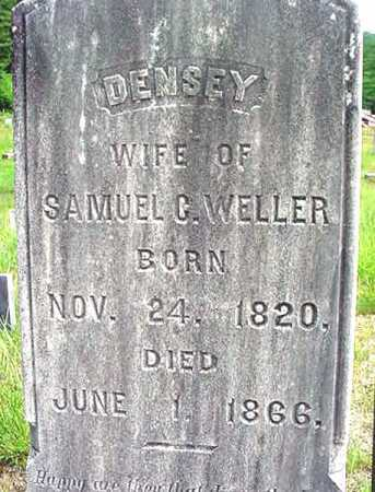 WELLER, DENSEY - Warren County, New York | DENSEY WELLER - New York Gravestone Photos
