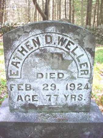 WELLER, EATHEN D - Warren County, New York | EATHEN D WELLER - New York Gravestone Photos