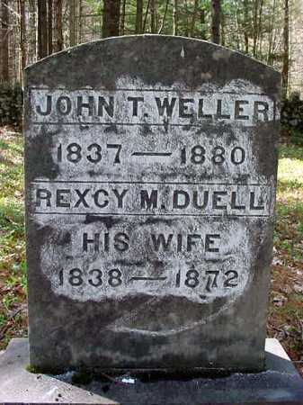 DUELL WELLER, REXCY M - Warren County, New York | REXCY M DUELL WELLER - New York Gravestone Photos