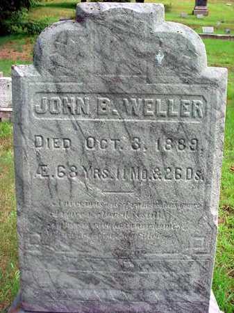 WELLER, JOHN B - Warren County, New York | JOHN B WELLER - New York Gravestone Photos