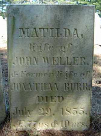 WELLER, MATILDA - Warren County, New York | MATILDA WELLER - New York Gravestone Photos
