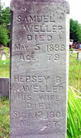WELLER, HEPSEY B - Warren County, New York   HEPSEY B WELLER - New York Gravestone Photos