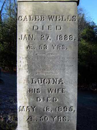 WELLS, CALEB - Warren County, New York | CALEB WELLS - New York Gravestone Photos
